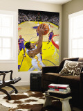 Detroit Pistons v Golden State Warriors: Rodney Carney Wall Mural by Rocky Widner