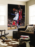 New Jersey Nets v Denver Nuggets: Ty Lawson and Johan Petro Wall Mural by Garrett Ellwood