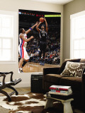 Detroit Pistons v Minnesota Timberwolves: Corey Brewer and Tracy McGrady Wall Mural by David Sherman