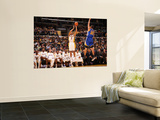 Golden State Warriors v Los Angeles Lakers: Derek Fisher and Stephen Curry Wall Mural by Noah Graham