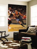 Charlotte Bobcats v Miami Heat: Shaun Livingston and Dwyane Wade Wall Mural by Victor Baldizon