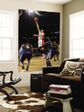 Denver Nuggets v Toronto Raptors: Linas Kleiza Wall Mural by Ron Turenne