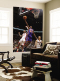 New York Knicks v Toronto Raptors: Wilson Chandler and Jerryd Bayless Wall Mural by Ron Turenne