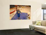 Golden State Warriors v Los Angeles Lakers: Rodney Carney and Shannon Brown Wall Mural by Noah Graham