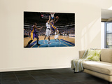 Los Angeles Lakers v Dallas Mavericks - Game Three, Dallas, TX - MAY 6: Kobe Bryant and Tyson Chand Wall Mural by Danny Bollinger