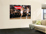 Milwaukee Bucks v Utah Jazz: Andrei Kirilenko and Deron Williams Wall Mural by Melissa Majchrzak