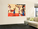 Oklahoma City Thunder v Chicago Bulls: Taj Gibson and Eric Maynor Wall Mural by Joe Murphy