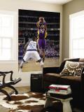 Los Angeles Lakers v Dallas Mavericks - Game Three, Dallas, TX - MAY 6: Kobe Bryant and DeShawn Ste Wall Mural by Glenn James