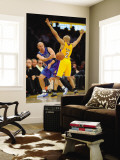 Dallas Mavericks v Los Angeles Lakers - Game One, Los Angeles, CA - MAY 2: Jason Kidd and Derek Fis Wall Mural by Noah Graham