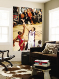 Los Angeles Clippers v Phoenix Suns: Hedo Turkoglu and Brian Cook Wall Mural by Barry Gossage