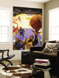 Washington Wizards v Los Angeles Lakers: Derrick Caracter Wall Mural by Andrew Bernstein