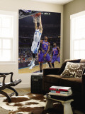 New York Knicks v New Orleans Hornets: Jason Smith and Amar'e Stoudemire Wall Mural by Layne Murdoch