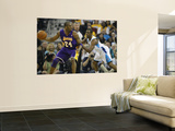 Chris Paul and Kobe Bryant Wall Mural by Unknown Unknown