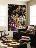 Los Angeles Lakers v Indiana Pacers: Kobe Bryant and Danny Granger Wall Mural by Ron Hoskins