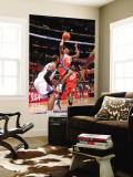 New Jersey Nets v Los Angeles Clippers: Ben Uzoh Wall Mural by Noah Graham