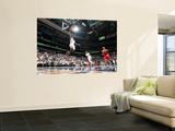 BESTPIX:  Chicago Bulls v Atlanta Hawks - Game Four,  ATLANTA - MAY 8: Joe Johnson Wall Mural by Scott Cunningham
