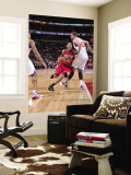 New Jersey Nets v Philadelphia 76ers: Devin Harris and Spencer Hawes Wall Mural by David Dow