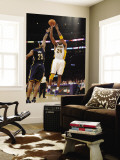 Utah Jazz v Los Angeles Clippers: Kobe Bryant and Brandon Rush Wall Mural by Noah Graham