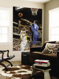 Orlando Magic v Indiana Pacers: T. J. Ford and Rashard Lewis Wall Mural by Ron Hoskins