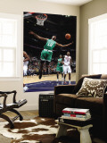 Boston Celtics v Atlanta Hawks: Von Wafer Wall Mural by Scott Cunningham