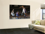 New York Knicks v Denver Nuggets: Gary Forbes and Danilo Gallinari Wall Mural by Doug Pensinger