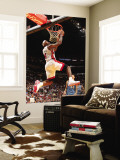 Washington Wizards v Miami Heat: LeBron James Premium Wall Mural by Victor Baldizon