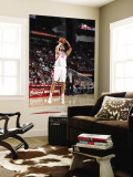 Chicago Bulls v Houston Rockets: Brad Miller Wall Mural by Bill Baptist