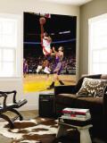 Phoenix Suns v Miami Heat: Jerry Stackhouse and Goran Dragic Vægplakat af Andrew Bernstein