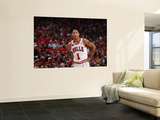 Indiana Pacers v Chicago Bulls - Game Two, Chicago, IL- April 18: Derrick Rose Wall Mural