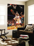 New Orleans Hornets v Miami Heat: LeBron James Wall Mural by Victor Baldizon