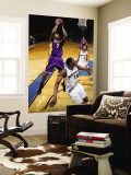 Los Angeles Lakers v Washington Wizards: Lamar Odom and Al Thornton Wall Mural by  Ned