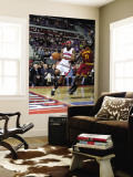 Cleveland Cavaliers v Detroit Pistons: Richard Hamilton and J.J. Hickson Wall Mural by Allen Einstein