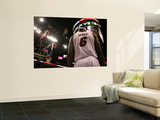 Chicago Bulls v Miami Heat - Game FourMiami, FL - MAY 24: LeBron James Wall Mural by Marc Serota