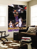 New York Knicks v Sacramento Kings: Wilson Chandler and Darnell Jackson Wall Mural by Rocky Widner