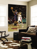 Atlanta Hawks v Toronto Raptors: Joe Johnson and Jerryd Bayless Wall Mural by Ron Turenne