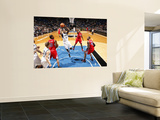Los Angeles Clippers v Minnesota Timberwolves: Anthony Tolliver Wall Mural by David Sherman