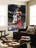 New Jersey Nets v Utah Jazz: Ronnie Price and Travis Outlaw Wall Mural by Melissa Majchrzak
