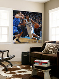 Dallas Mavericks v New Orleans Hornets: Willie Green and Jose Barea Wall Mural by Layne Murdoch