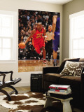 2011 NBA All Star Game, Los Angeles, CA - February 20: Kobe Bryant Wall Mural by Andrew Bernstein
