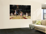 Denver Nuggets v Toronto Raptors: Al Harrington and Amir Johnson Wall Mural by Ron Turenne