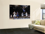 New York Knicks v Orlando Magic, Orlando, FL - March 1: Amar'e Stoudemire, Dwight Howard and Hedo T Wall Mural by Fernando Medina