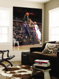 Atlanta Hawks v Detroit Pistons: Josh Smith and Charlie Villanueva Wall Mural by Allen Einstein
