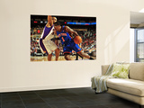 New York Knicks v Phoenix Suns, Phoenix - January 7: Amar'e Stoudemire and Grant Hill Wall Mural by Barry Gossage