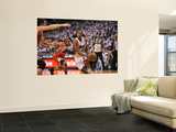 Chicago Bulls v Miami Heat - Game ThreeMiami, FL - MAY 22: Mario Chalmers and C.J. Watson Wall Mural by David Dow