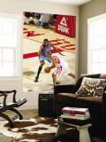 Oklahoma City Thunder v Houston Rockets: Shane Battier and Kevin Durant Wall Mural by Bill Baptist
