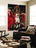 Atlanta Hawks v Chicago Bulls - Game Two, Chicago, IL - MAY 04: Derrick Rose Wall Mural by Jonathan Daniel
