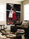 Miami Heat v Chicago Bulls - Game Two, Chicago, IL - MAY 18: Udonis Haslem and Derrick Rose Wall Mural by Gregory Shamus