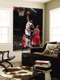 Los Angeles Clippers v Detroit Pistons: Ben Wallace and DeAndre Jordan Wall Mural by Allen Einstein