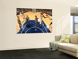 Charlotte Bobcats v Indiana Pacers: Solomon Jones and Kwame Brown Wall Mural by Ron Hoskins