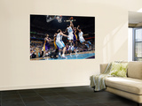 Los Angeles Lakers v New Orleans Hornets - Game Four, New Orleans, LA - April 24: Kobe Bryant, Trev Wall Mural
